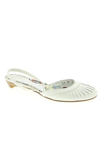 ippon styl chaussures femme de couleur blanc
