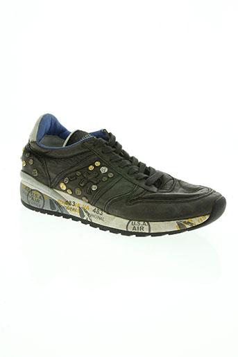 premiata chaussures femme de couleur noir