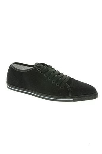 swear-london chaussures garçon de couleur noir