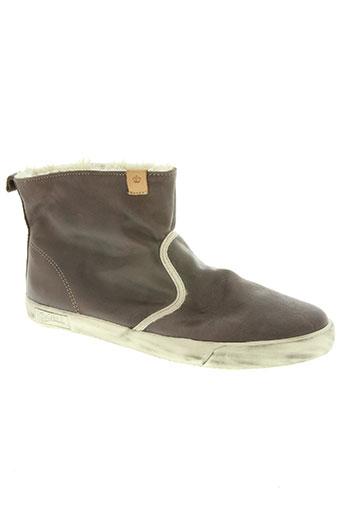 goliath chaussures femme de couleur marron