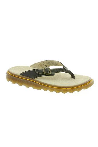 dr martens chaussures femme de couleur marron