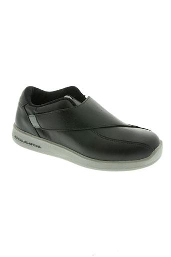 royal elastics chaussures femme de couleur noir