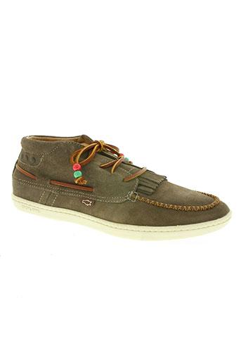 dolfie chaussures homme de couleur beige