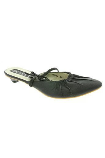 carla chaussures femme de couleur noir