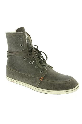 hub chaussures femme de couleur gris
