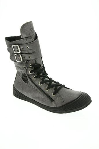pataugas chaussures homme de couleur gris