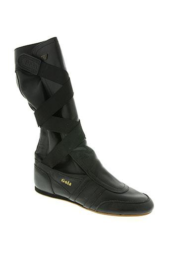 gola chaussures femme de couleur noir