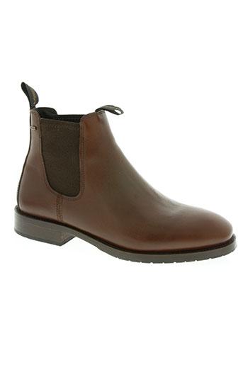 dubarry chaussures homme de couleur marron