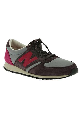new balance chaussures unisexe de couleur violet