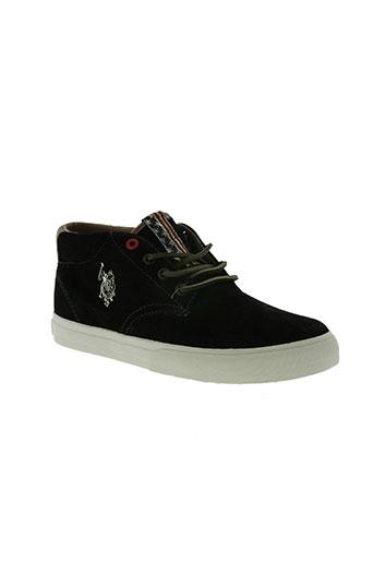 u.s. polo assn chaussures homme de couleur noir