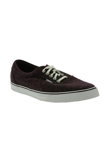 vans chaussures homme de couleur violet
