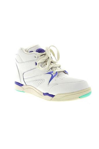 reebok chaussures femme de couleur blanc
