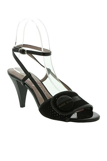 Sandales/Nu pieds noir MISS SISSI pour femme