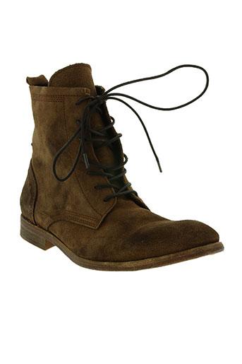hudson chaussures homme de couleur marron