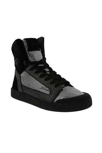 spring court chaussures homme de couleur noir