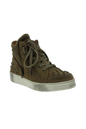 viu sneakers chaussures femme de couleur beige