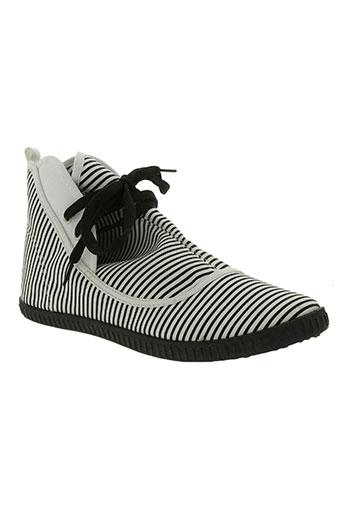 striipe chaussures femme de couleur noir