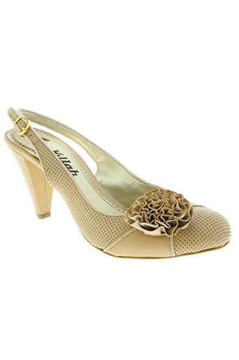killah chaussures femme de couleur beige
