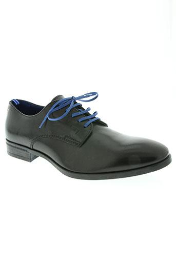 azzaro chaussures homme de couleur noir