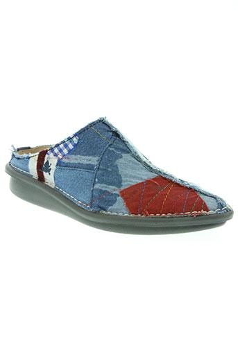 el naturalista chaussures femme de couleur bleu