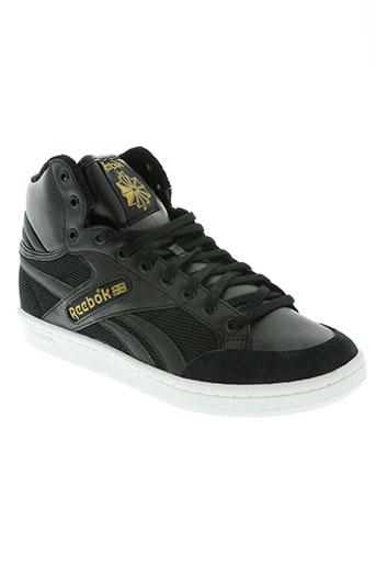 reebok chaussures homme de couleur noir