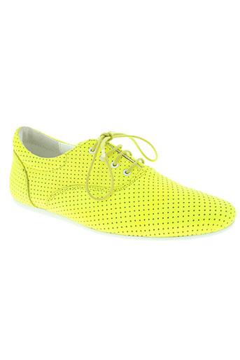 schmoove chaussures femme de couleur jaune