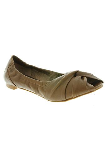 bronx chaussures femme de couleur marron