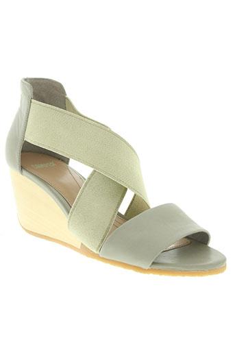 camper chaussures femme de couleur beige