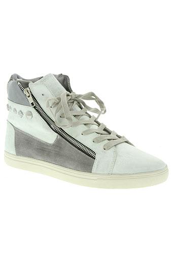 groundfive chaussures homme de couleur gris