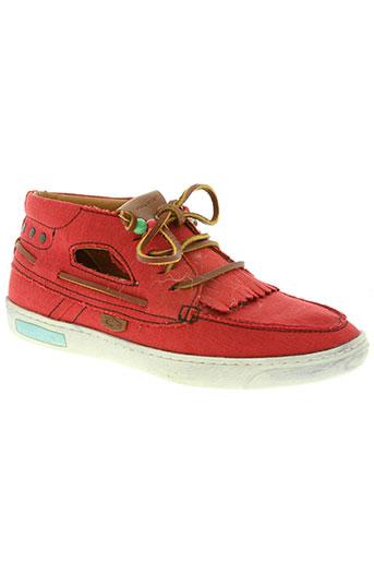 dolfie chaussures femme de couleur rouge