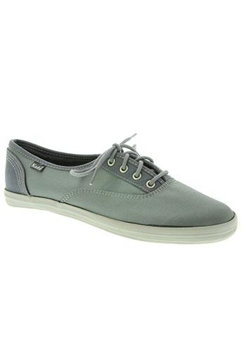 keds chaussures femme de couleur gris