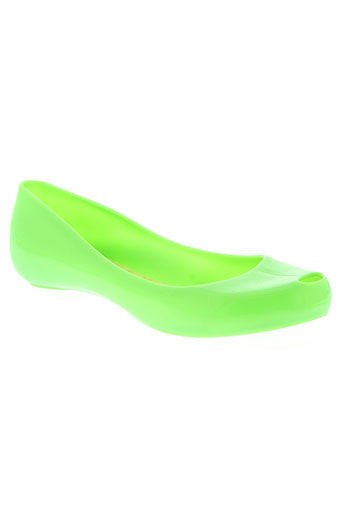 melissa chaussures femme de couleur vert
