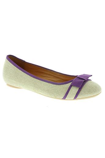 mellow yellow chaussures femme de couleur violet