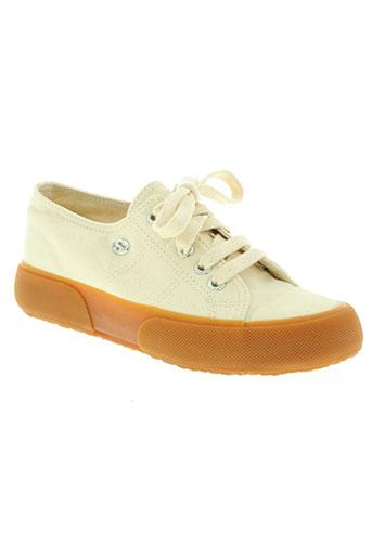superga chaussures femme de couleur beige