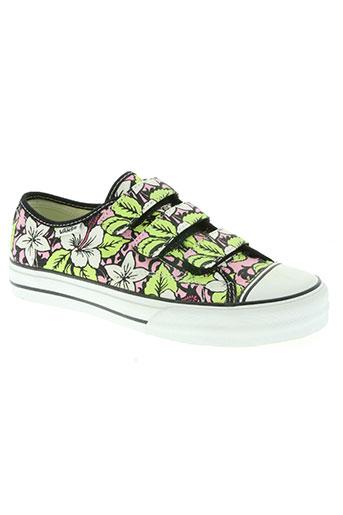 vans chaussures garçon de couleur vert