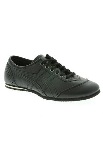 onitsuka tiger chaussures femme de couleur noir