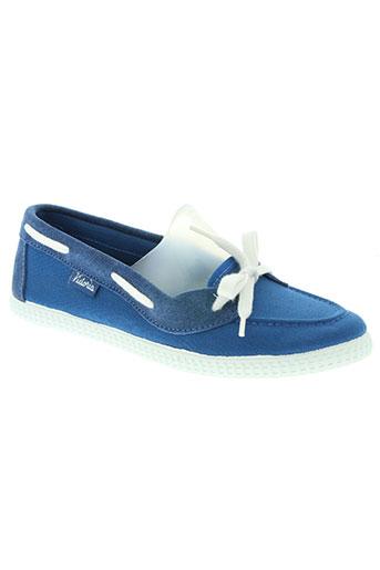 victoria chaussures femme de couleur bleu