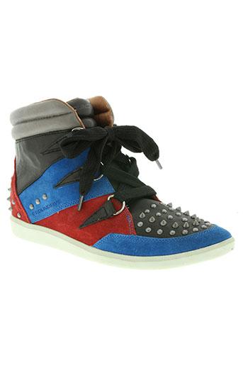 groundfive chaussures homme de couleur noir