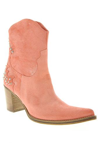 paprika chaussures femme de couleur orange