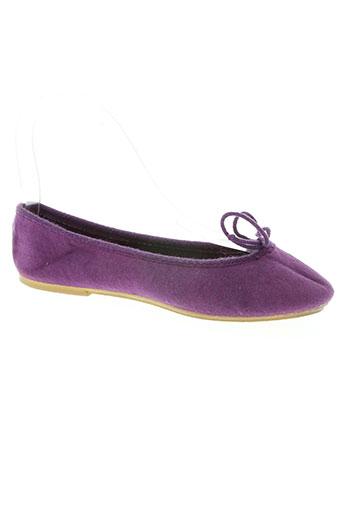 Chaussons/Pantoufles violet BILL TORNADE pour femme