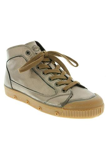 spring court chaussures femme de couleur marron