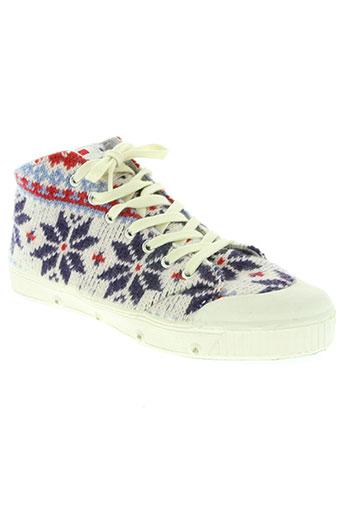 spring court chaussures femme de couleur bleu