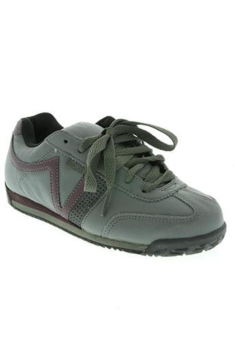 vans chaussures garçon de couleur gris
