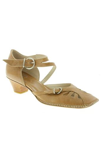 xsa chaussures femme de couleur beige