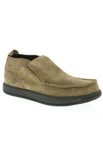 reef chaussures homme de couleur marron
