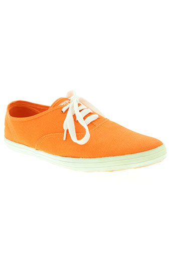 gola chaussures homme de couleur orange