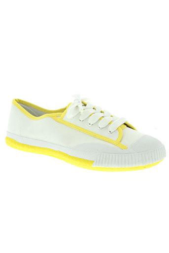 shulong chaussures homme de couleur blanc