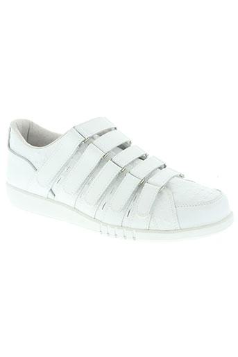 k.swiss chaussures homme de couleur blanc