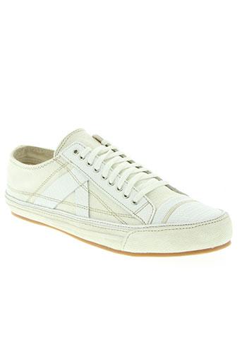 pf-flyers chaussures homme de couleur blanc