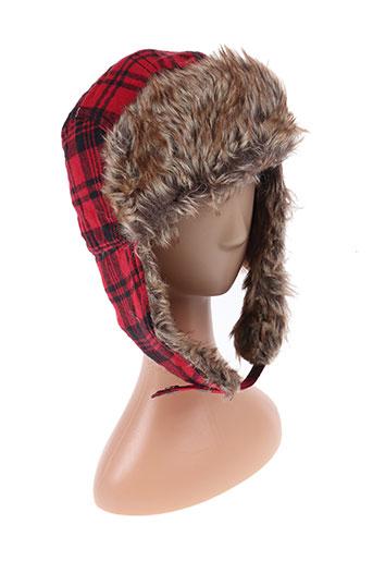 Bonnet rouge DIESEL pour homme